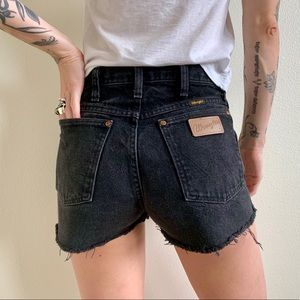 Vintage Wrangler High Rise Shorts
